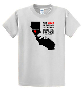 #SONOMACOUNTYSTRONG T-SHIRT- WHITE or BLACK