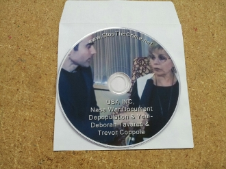 DVD  - USA INC, Nasa War Document Depopulation & You - Deborah T