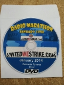 DVD  - United We Strike January 2014