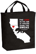 #SONOMACOUNTYSTRONG GROCERY TOTE
