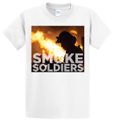 Smoke Soldiers CD CVR T-shirt