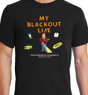 My Blackout Life Uncle Sperry T-shirt