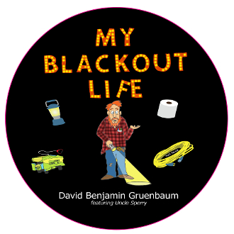 5 Pack My Blackout Life Stickers